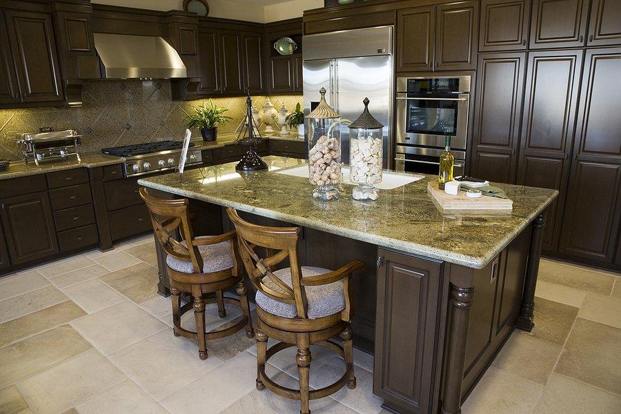 a granite kitchen tops